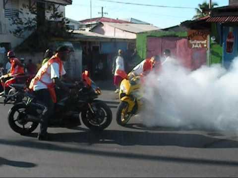 Dominica Carnival 2010 Opening Parade Motorcade