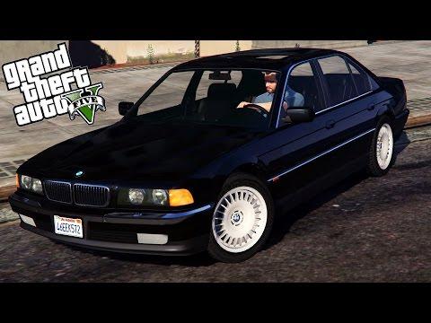 GTA 5 Mods : BMW 750i (e38) - ЭПИЧНАЯ СЕРИЯ