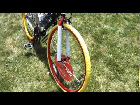 Thruster 700c Fixie Motorized Bike Part 2