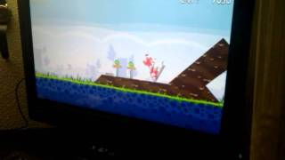 angry birds on pc  HP TouchSmart 610