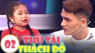 🍎 Mạc Văn Khoa TROLL bé Khả Hân cười ra nước mắt | Thử Tài Thách Đố #2