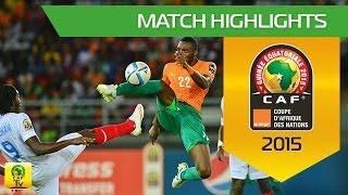 Can 2015 | 1/2 finale - Côte d'Ivoire 3-1 Rd Congo