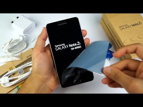Galaxy Note 3 Unboxing - فتح صندوق جالكسي نوت ٣