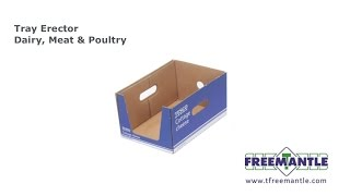 T. Freemantle Ltd - Tray Erector Dairy, Meat and Poultry