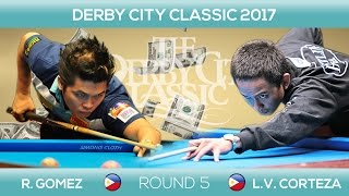 Roberto GOMEZ - Lee Van CORTEZA | 9-BALL | Derby City Classic 2017