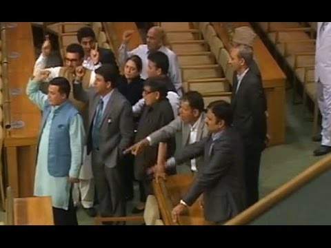Anti-Government Slogans Raised in J & K Assembly