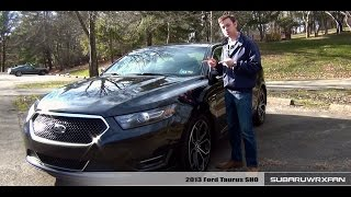 Review: 2013 Ford Taurus SHO