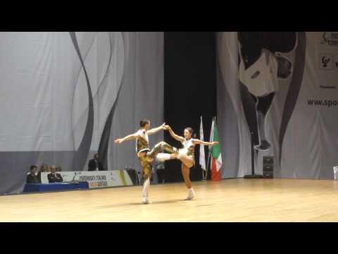Anna Miadzielec & Jacek Tarczylo - World Masters Rimini 2012
