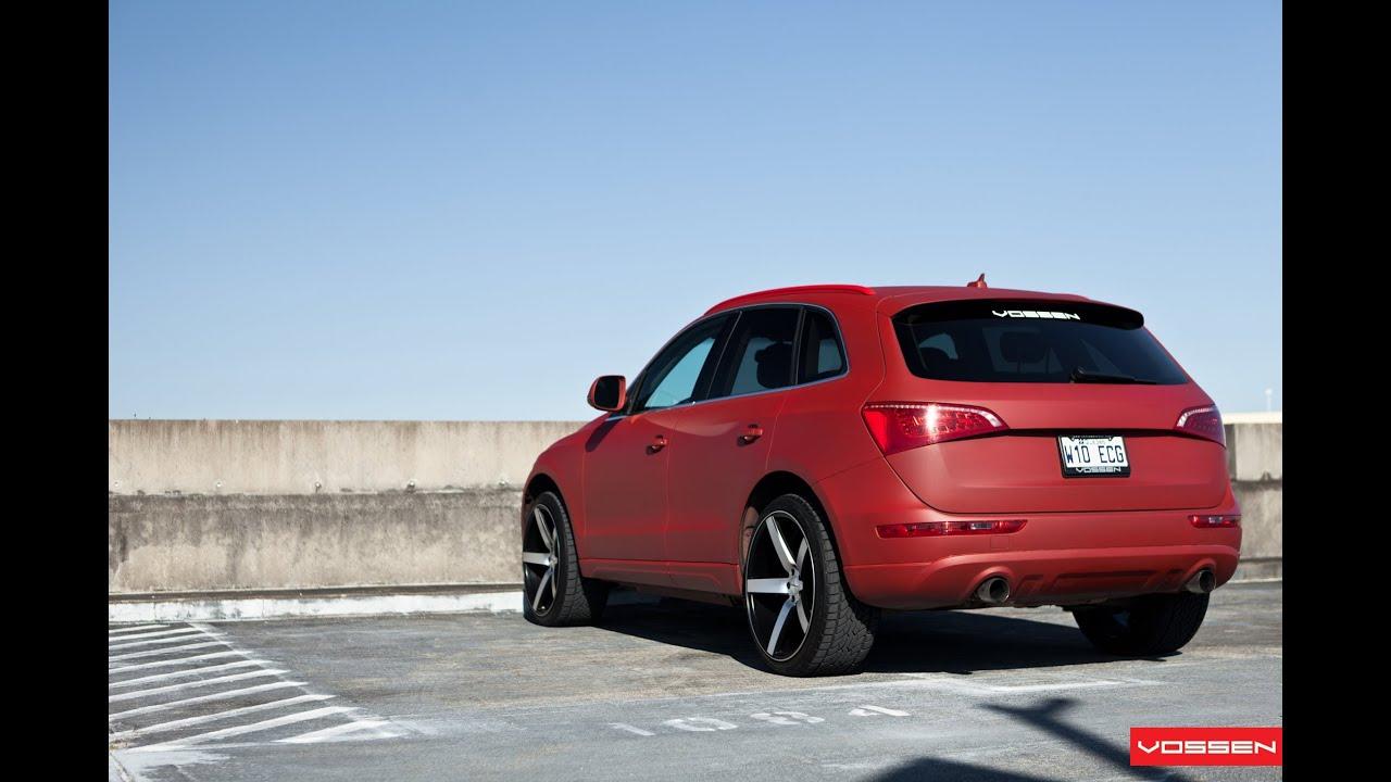 "My Audi Q5 on 22"" Vossen VVS-CV3 Concave Wheels | - YouTube"