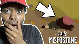 Little Misfortune - We Made A BAD CHOICE - (Little Misfortune Full Game Part 2)