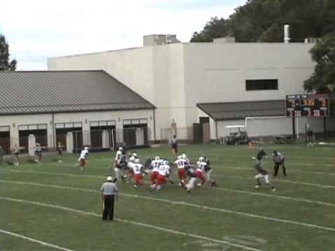Max Revercomb #11 - North Cross School - Sophomore football highlights 2012