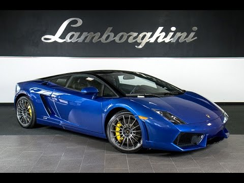 2011 Lamborghini Gallardo Lp 550 2 Bicolore Blu Caelum L0695 Youtube