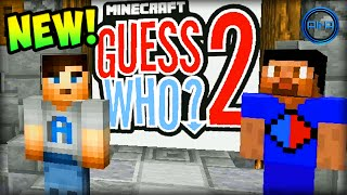 Minecraft GUESS WHO (NEW)!  - Ali-A vs Vikkstar123 #1 (Guess Who 2.0)
