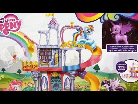 Friendship Rainbow Kingdom Playset / Tęczowe Królestwo Twilight Sparkle - Hasbro