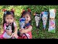 Es Krim Cornetto Oreo, Cornetto Black & White dan Paddle Pop Tornado Grape | Icip Ice Cream Walls