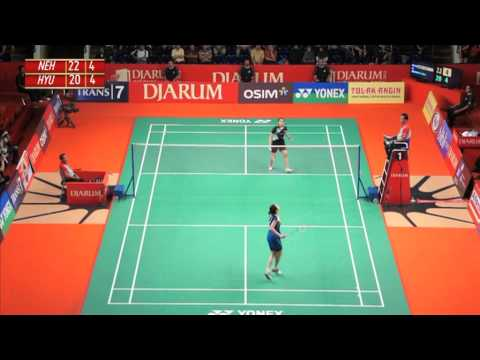 Saina Nehwal (IND) VS Ji Hyun Sung (KOR) Djarum Indonesia Open 2012