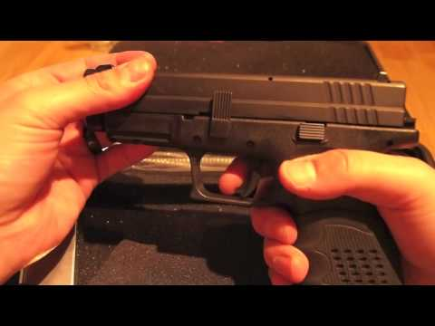 Springfield Armory XD .45 ACP pistol review and XD gear