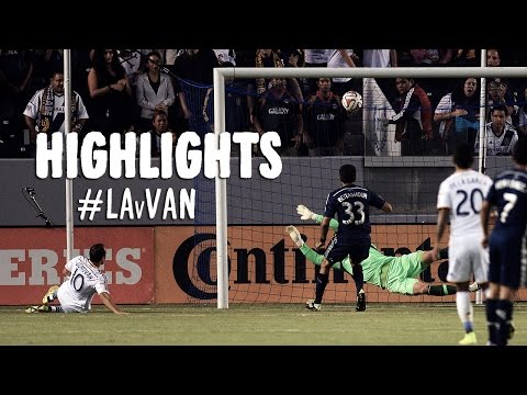 HIGHLIGHTS: L.A. Galaxy vs Vancouver Whitecaps | August 23, 2014