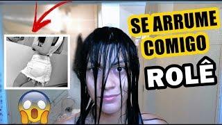 SE ARRUME COMIGO PARA O ROLÊ #2 | LOOK, CABELO E MAQUIAGEM!| Pérolas da J@que