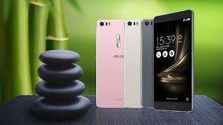 Видео обзор смартфонов Asus ZenFone 3, ZenFone 3 Max и ZenFone 3 Ultra