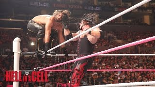 WWE Network Demon Kane vs Seth Rollins WWE Hell in a Cell 2015