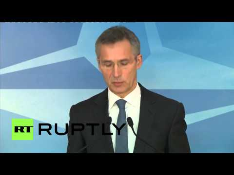 Belgium: NATO's Stoltenberg blames Russia and 'seperatists' for Mariupol