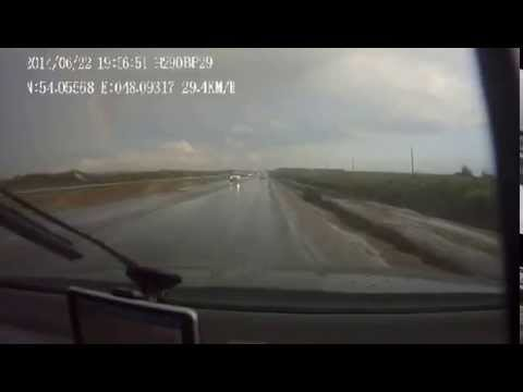 Авария 22_06_2014 на трассе Ульяновск-Сызрань