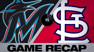 Goldy walks off the Marlins in extras | Marlins-Cardinals Game Highlights 6/19/19