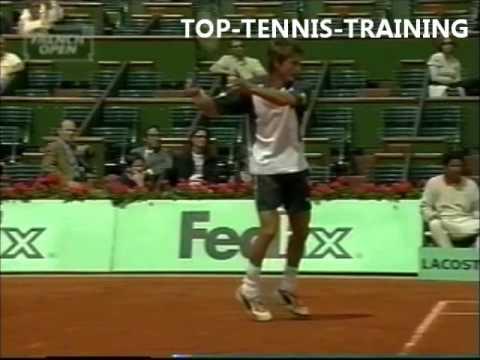 Juan Carlos Ferrero Forehands Slow Motion 2