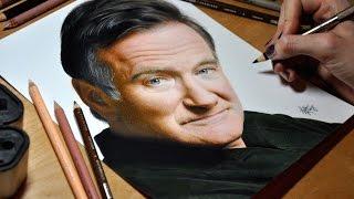 Drawing Robin Williams