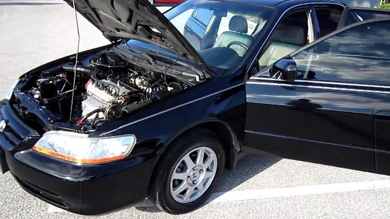 Sold 2002 Honda Accord Special Edition Vtec Meticulous Motors Inc Florida Look Youtube