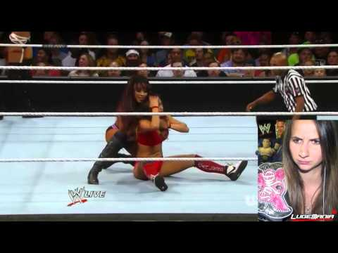 WWE Raw 7/14/14 Nikki Bella vs Cameron Alicia Fox Live Commentary
