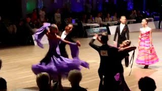 Christmas Dance Festival 2015 Norway / Standard Final - Junior 2