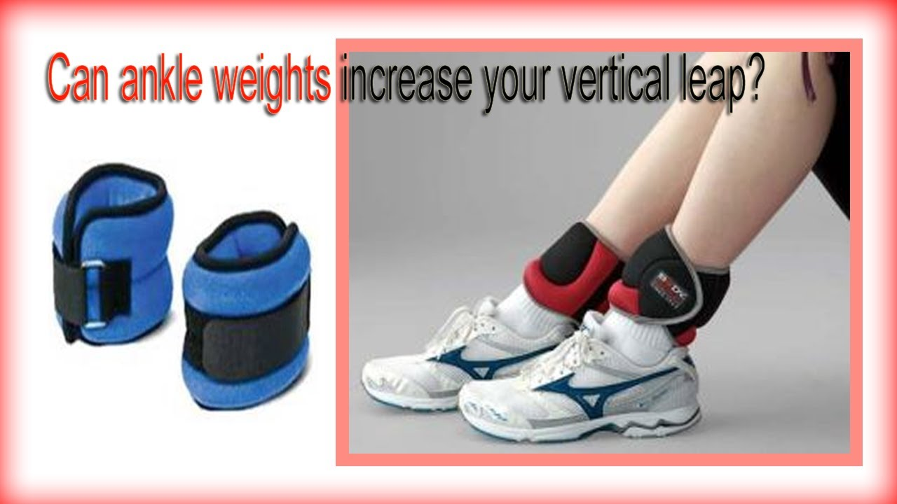 Ankle weights vertical jump training game