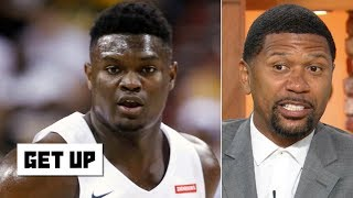 Zion wasn't in shape for summer league - Jalen Rose | Get Up