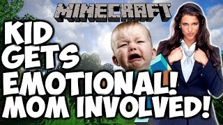 "UPSET SQUEAKER THREATENS TO CALL ""MICROSCOFT"" ENDS UP PISSING OFF HIS MOTHER! (MINECRAFT TROLLING)"