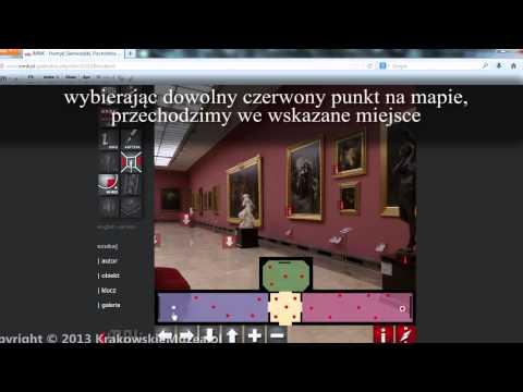Wirtualne Muzeum Narodowe W Krakowie - Instrukcja Zwiedzania
