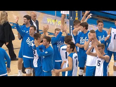 Recap: UCLA men's volleyball sweeps Stanford on Senior Night