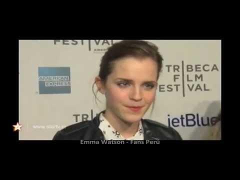 Emma Watson Entrevistada en Red Carpet | Struck By Lightning - TFF 2012