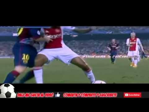 Messi Humilla A Jugador Del Ajax UEFA CHAMPIONS LEGUE 2014
