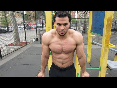 Push and Pull Workout Routine with Calisthenics Athlete Eric Rivera