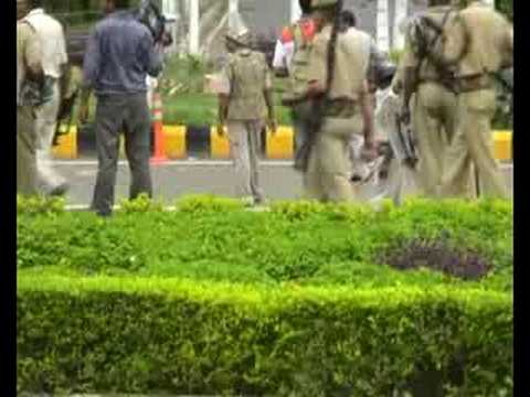 attack at greater noida authority