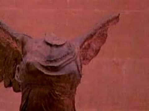 Ancient Sculpture - The Winged Victory of Samothrace 300 BC Video