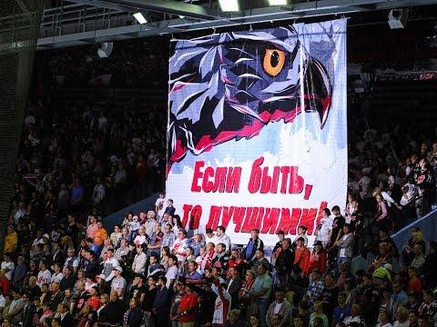 Единым фронтом - к победе! Атмосфера первого матча Авангарда в новом сезоне КХЛ