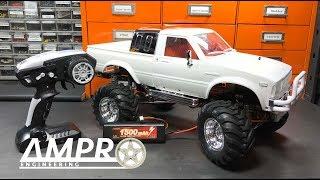 e145: HG-P407 Metal 4x4 Pick Up Crawler Tamiya Bruiser Clone Review and Impressions