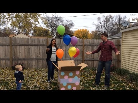 Couple Shocked When Balloon Store Mixes Up Order For Gender Reveal