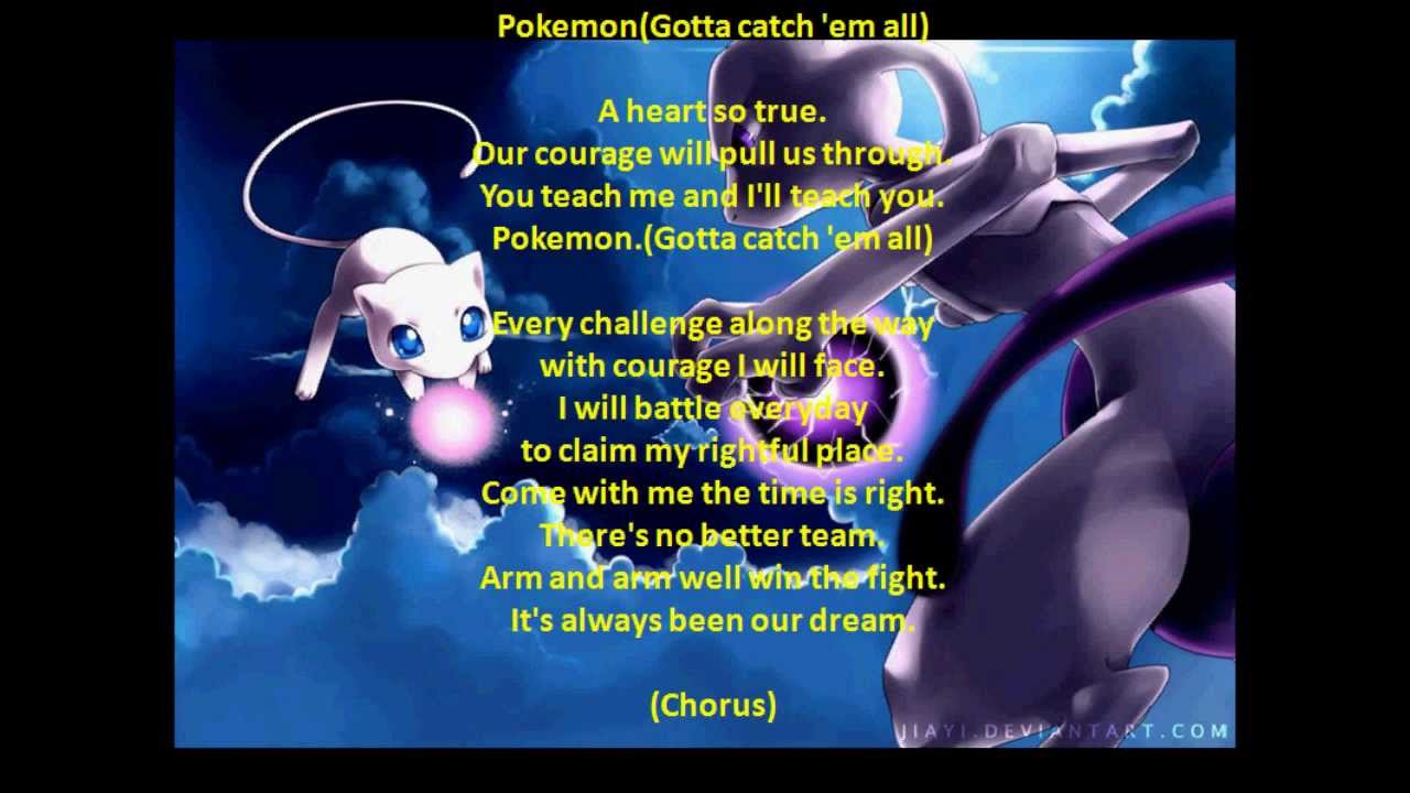Pokémon Season 1 Theme Song Full (With lyrics) - YouTube
