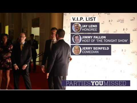 D.C. gets a major dose of Hollywood with Jay Leno, Brad Pitt and Jimmy Fallon