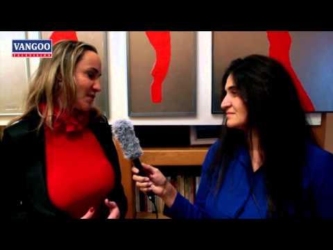 VANGOO TV : | TRIBUTO A FERNANDO PESSOA | Interview de Silvia BONAFE par Angela MOTA |