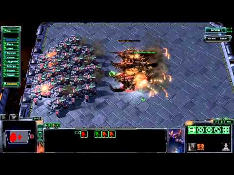 HOTS Beta 2.0.1 - unit deaths animation (from Siege Tanks)